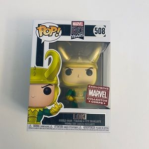 Funko Pop Loki First Appearance Marvel Corps